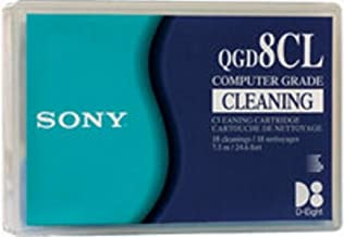 New-Sony QGD8CL - 8mm Cleaning Cartridge, 18 Uses - SONQGD8CL