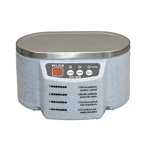 Limpiador Ultrasonidos Profesional de 40000Hz Acero Inoxidable Ultrasonido para Joyas Afeitadoras Dentaduras y Relojes