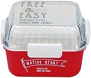 FREE&EASY スクエア MCランチ クリアレッド 43-76430-5