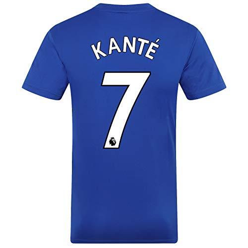 Chelsea FC - Jungen Trainingstrikot aus Polyester - Offizielles Merchandise - Geschenk für Fußballfans - Blau - Kante 7-8-9 Jahre