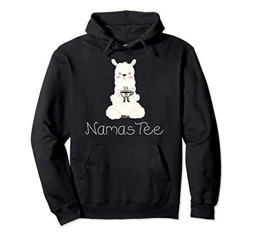 Namaste Namas Tee lustiges Yoga Wortspiel mit Alpaka Pullover Hoodie