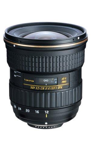 Tokina AT-X 4 - Objetivo para Canon (Distancia Focal 12-28 mm, Apertura f/4 f stop-22), Negro