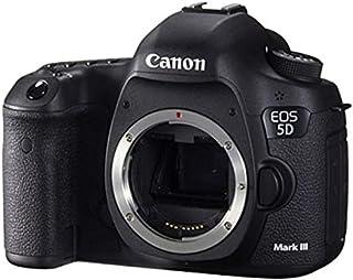 كاميرا عاكسة مفردة العدسة اي او اس خماسية الابعاد تشمل الهيكل فقط - دقة 22.3 ميجابكسل، لون اسود من كانون