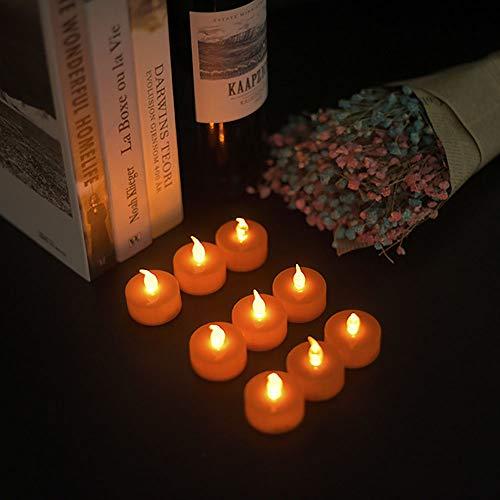 gengyouyuan Led thee wax lamp Gekleurde thee lichten Kerstmis Halloween decoraties