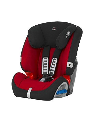 Römer Multi-Tech II - Silla para coche, grupo 1-2, color rojo