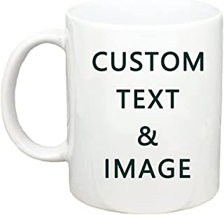 Mugs with customized characters and patterns