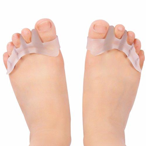 Silicone Bunion Corrector le dita dei piedi di protezione separatore raddrizzatore