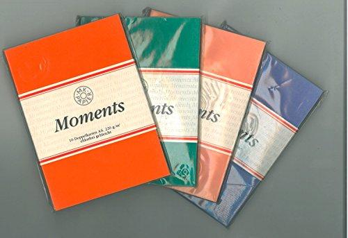 Brunnen 10 Doppelkarten lachsfarben A6, 220g/qm, Moments von MK Papier 10-5147745