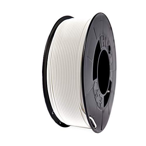 Winkle Filamento PLA 3D850, 1.75 mm, Blanco Glaciar, Filamento para Impresión 3D, Bobina 1000 gr