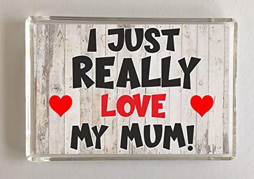 Mum con Scritta in Lingua Inglese Mum Sister Auntie I Love You NAN Daughter Targa in Vetro da 8 cm in Confezione Regalo Special Friend Cross My Heart