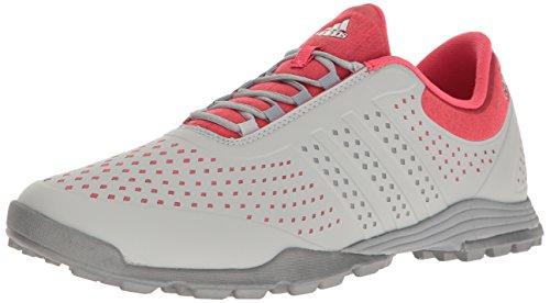adidas Women's Adipure Sport Golf Shoe, Core Pink, 10 M US