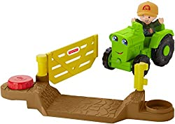 Image: Fisher-Price Little People Vehicle Tractor
