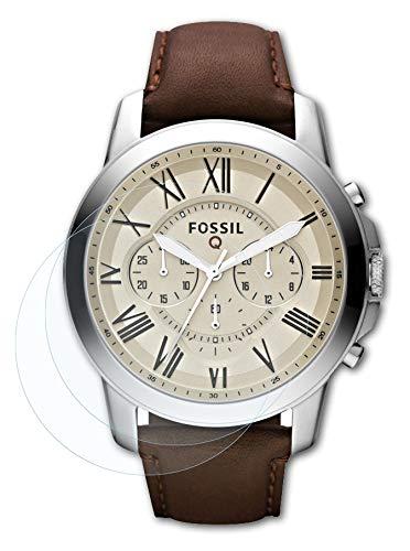 Bruni Schutzfolie kompatibel mit Fossil Q Grant Folie, glasklare Bildschirmschutzfolie (2X)