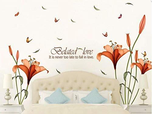 Promoción de precios bajos Hm18195 Floral White House Fashion Children Bedroom Un fondo de sala de estar del Stick 175 * 120cm