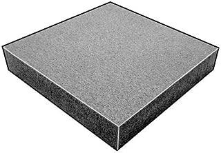 Foam Sheet, 220Poly, Charcoal, 1/2x24x18 In
