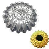 Mold Sunflower Kuchen-Dekoration Aluminium Kuchen Backblech Backblech Backform Kuchenform Silikon Laibwanne Zubehör Home, USA, A