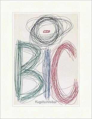 Kunstdruck BIC 360 - Bolígrafo, colores publicitarios