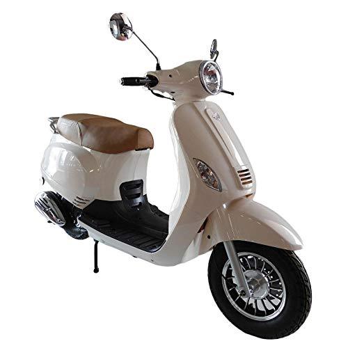 KEN ROD Moto Scooter 125 CC | Moto Gasolina Adultos | Ciclomotor Gasolina | Moto Gasolina 4 Tiempos | Scooter Gasolina | Incluye Matriculación