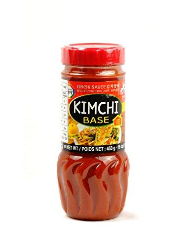 WANG Salsa Kimchi para marinar Verduras Kimchi Base 453g