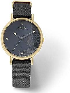 Zyros Dress Watch For Women Analog Nylon - ZAN004L010251