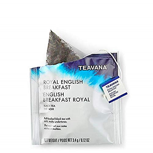 Starbucks Teavana Tea Sachets (Royal English Breakfast Black, Pack of 24 Sachets)