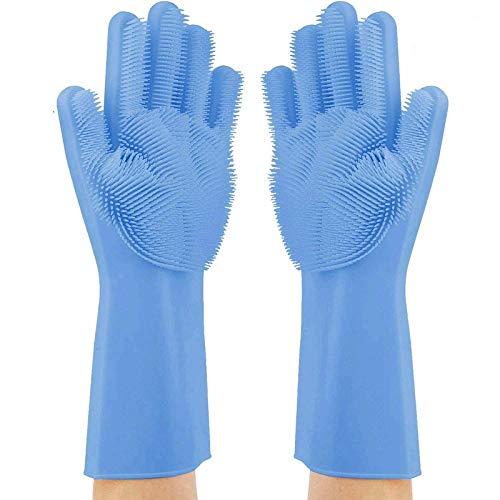 Alcione Magic Dishwashing Gloves With Scrubber