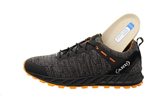 AKU Rapida Air, Scarpa da Outdoor Uomo (Black/Orange, Numeric_45)