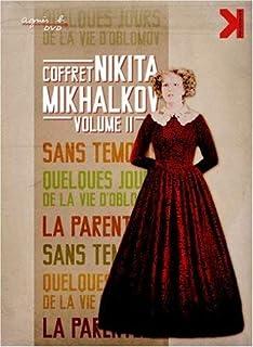 Nikita Mikhalkov - Volume Two - 3-DVD Set ( Neskolko dney iz zhizni I.I. Oblomova / Rodnya / Bez svideteley ) ( A Few Days...