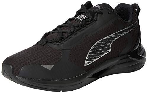 PUMA Minima FM Mono WNS, Zapatillas para Correr de Carretera Mujer, Negro Black Silver, 42.5 EU