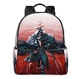 Mochila escolar con diseño de anime de Bloodborne
