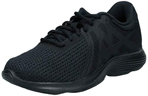 Nike Damen WMNS Revolution 4 EU Laufschuhe, Schwarz (Black / Black 002), 40 EU