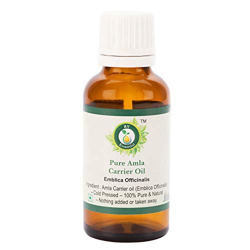 R V Essential Reines Amla Öl 50ml (1.69 Unzen) - Emblica Officinalis (100% reine und natürliche seltene Herb Series) Pure Amla Oil