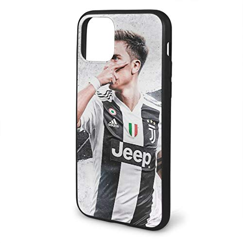 ARTANIME Compatible with iPhone 6 6s 7 Plus 8 Plus X XS XR 11 PRO Max SE 12 PRO Max Case Dybala - 1 Shockproof Protection Black Phone Cases Cover