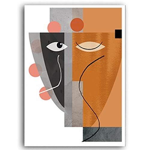 Kunst Leinwand Malerei Geometrische Poster und Drucke Bilder für Wohnzimmer Haus Interior Deco 30x40cm