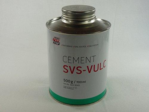 Rema Tip Top Vulkanisier - Flüssigkeit 500 g Dose, Latex, Kleber, Gummi, Fahrrad 505924
