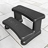 CosySpa Hot Tub Spa Steps - Above Ground Pool Steps   Spa Steps for Rigid or Inflatable Hot Tub   Step for Swimming Pools Above Ground   Hot Tub Accessories