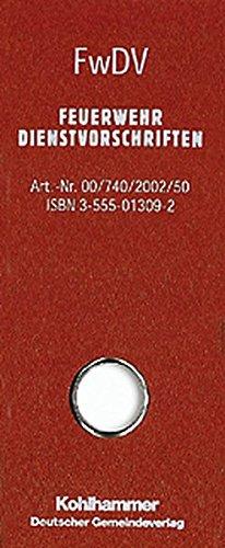 FwDV-Sammelbox: enthält: FwDV 1, FwDV 2, FwDV 3, FwDV 7, FwDV 8, FwDV 10, FwDV 100, FwDV 500, FwDV 800, FwDV 810, PDV/DV 810.3, DGUV Regel 105-049 (Feuerwehrdienstvorschriften)