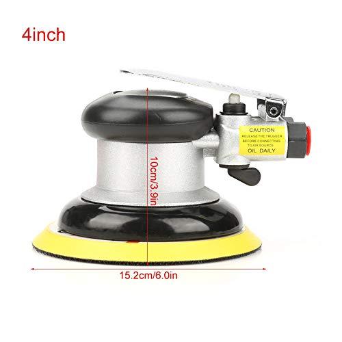 Keenso ronde slijpmachine ronde polijstmachine luchtslijpmachine polijstmachine pneumatisch handschuurgereedschap voor oppervlakpolijsten AT-780 5