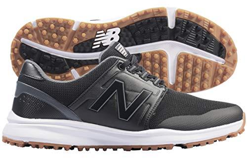 New Balance Men's Breeze v2 Golf Shoe, Black, 10.5