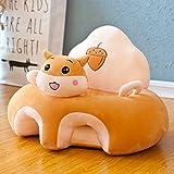Cushion Silla de Aprendizaje para bebés con Forma de Felpa