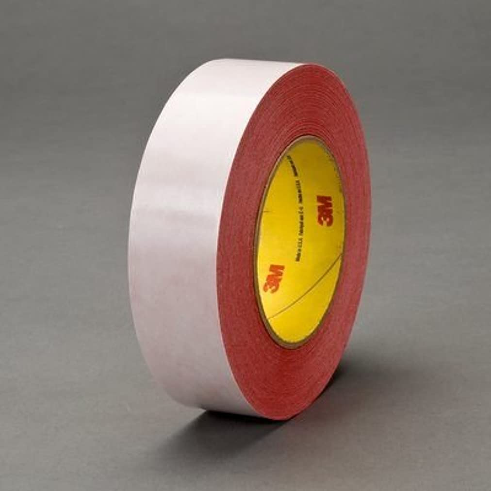 3M 9741R Red Bonding Tape - 48 mm Width x 6.5 mil Thick - Glassine Paper Liner - 07359 [PRICE is per ROLL] rvdzfs48882