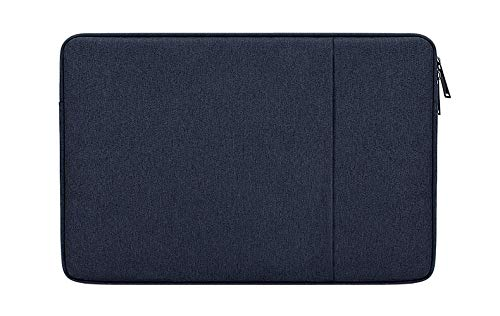 DOT. 11 - 12.4 Inch Laptop tablet Sleeve Case Water-Resistant Neoprene Notebook Computer Pocket Tablet Briefcase Carrying Bag/Pouch Skin Cover for Acer/Asus/Dell/Lenovo/HP (11' - 12.4', Dark Blue)