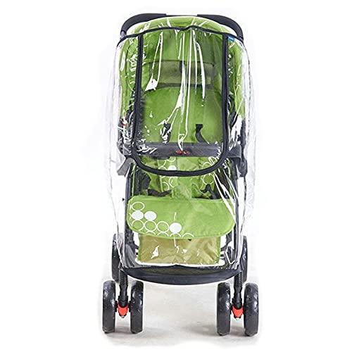 Imperméabilisez la housse de pluie - Imperméables Poussette Poussettes Cart Dust Rain Cover Universel pour Poussette Poussettes Baby Protège Bouclier Accessoires Chariots
