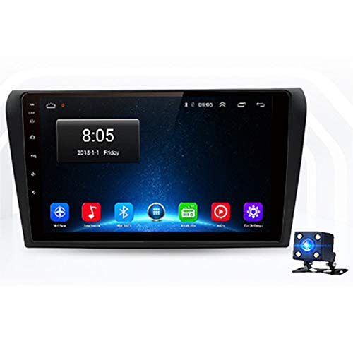 Review NBVNBV Android 9.0 Touchscreen Car Radio GPS Multimedia Navigator System Fit for Mazda 3 Bk 2004-2009 Mazda3 Lifetime Free Map Updates Rear Camera,4g (4gb 64gb)