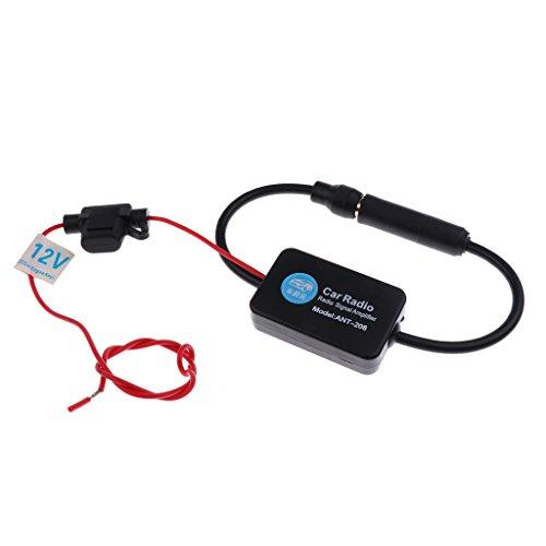 Sharplace Réduction De Bruit D'Amplificateur d'Antenne De Signal de Voiture D'AM FM