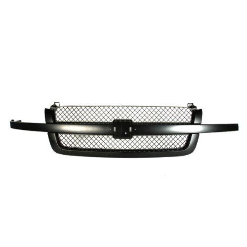 CarPartsDepot Grille Assembly Front Black Gray, 400-15479 GM1200557 19168630