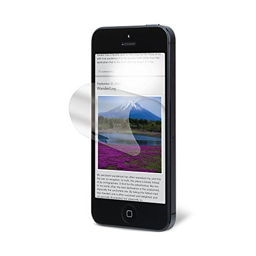 3M NVAG828762 Anti Glare Screen Protector f/iPhone 5/5s/5c, 98044057143 (Protector f/iPhone 5/5s/5c)