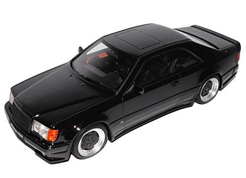 Mercedes-Benz E-Klasse C124 The Hammer Wide Body AMG Coupe Schwarz 1984-1997 Nr 209 1/18 Otto Modell Auto