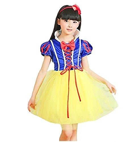 【コスプレ】ディズニー 白雪姫 白雪姫 風 衣装3点セット(03 120cm)