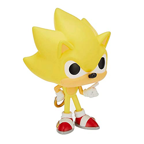 Funko Pop Games : Super Sonic - Sonic (Limited Edition) 3.9inch Vinyl Gift for Boys Games Fans SuperCollection